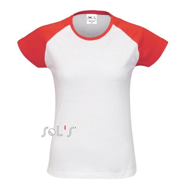 e7a75283c633 t shirt femme rouge