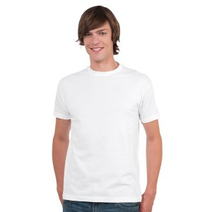 King Numerica - Tee-Shirt Unisexe col Rond Blanc