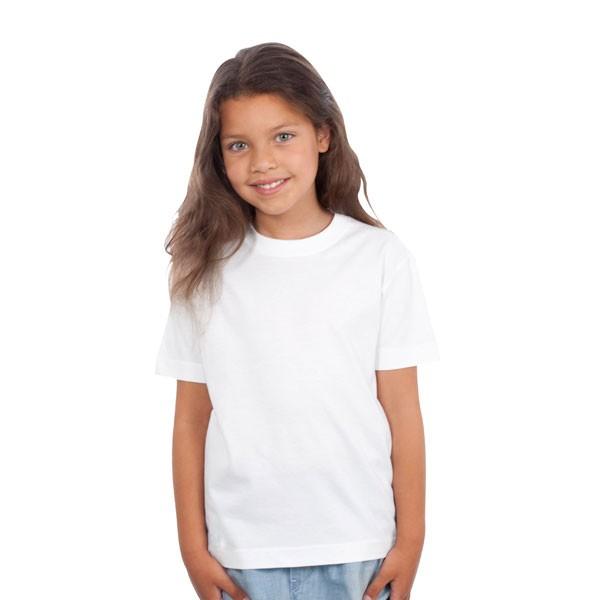 tee shirt blanc enfant 100 coton biologique tee shirt bio organic kids t shirt publicitaire. Black Bedroom Furniture Sets. Home Design Ideas