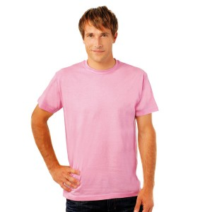 Regent - Tee-shirt  Col Rond Rose orchidée