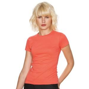 Miss - Tee-Shirt pour Femme couleur corail